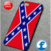 Rubber Confederate Rebel Flag  for iphone, ipod, samsung galaxy, HTC and Nexus PHONE CASE
