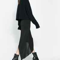 ASYMMETRIC STUDIO SKIRT - Studio - WOMAN | ZARA United States