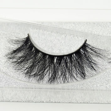 Visofree eyelashes 3D mink eyelashes long lasting mink lashes natural dramatic volume eyelashes extension false eyelashes D22