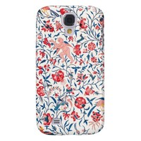 Vintage Persian Horror Vacui Floral Birds Pattern Galaxy S4 Case
