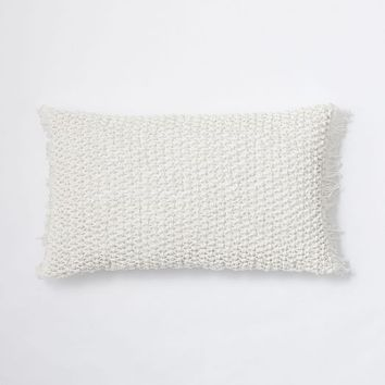 Knotted Net Pillow Cover