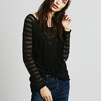 Free People Womens Love That Fringe Top