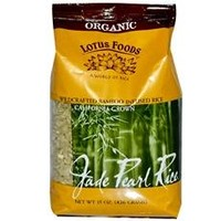 Lotus Foods Organic Jade Pearl Rice (6x15Oz)