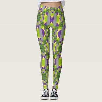 Circles and Pillars Leggings