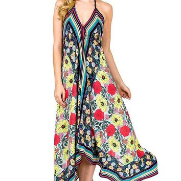Rainbow Blooms Dress