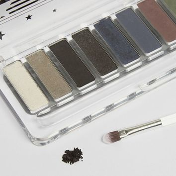 Lottie Shadow Swatch Eyeshadow Palette - The Smokes at asos.com