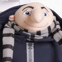 2016 NEW Freeshipping Despicable me Me2 minions Gru High Quality 15inch 39cm Plush Stuffed doll toys baby doll gift