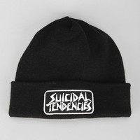 OBEY X Suicidal Tendencies Propaganda Beanie - Urban Outfitters