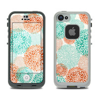 DecalGirl  MATTE Skin fits LifeProof FRE iPhone 5s ~ FLOURISH by Brooke Boothe