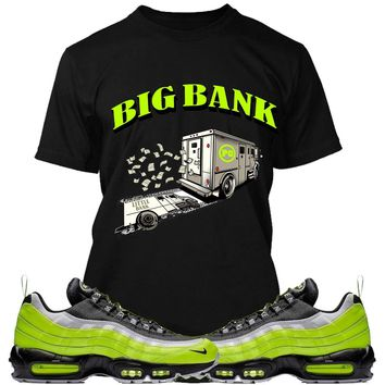 Nike Air Max 95 Volt Sneaker Tees Shirt - BIG BANK PG