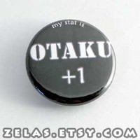 Otaku plus 1 button