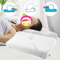 1PCS 30x50 Sleep Bamboo Fiber Slow Rebound Memory Foam Pillow Cervical Health Care Newest Hot Search