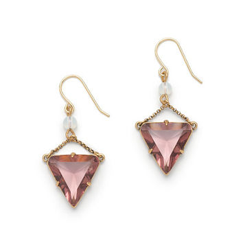J.Crew Womens Triangle Crystal Earrings