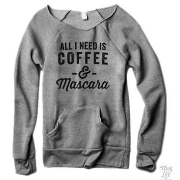 Coffee And Mascara Sweater