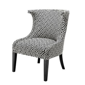 Black & White Dining Chair | Eichholtz Elson