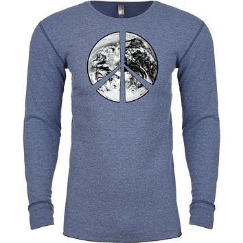 Buy Cool Shirts Peace T-shirt Earth Satellite Symbol Thermal