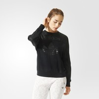 adidas Training Overlay Sweatshirt - Black | adidas US