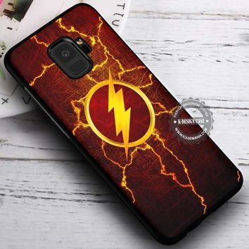 Lighting Symbol The Flash iPhone X 8 7 Plus 6s Cases Samsung Galaxy S9 S8 Plus S7 edge NOTE 8 Covers #SamsungS9 #iphoneX