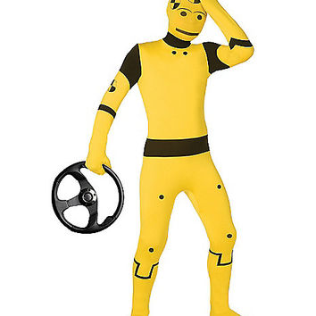 Super Skins® Crash Test Dummy Skin Suit Child Costume - Spirithalloween.com