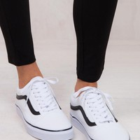 VANS Classic Old Skool Tumble White Sneaker