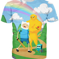 Bad to the Bone Adventure Time T-Shirt