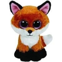 TY Beanie Boos Slick the Fox Small 6""