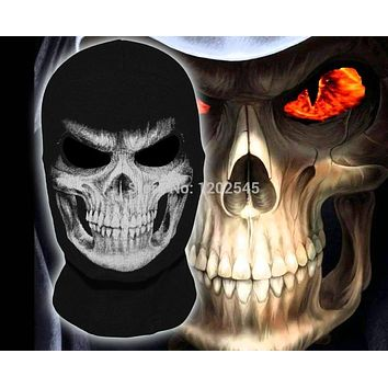 New The Grim Reaper Mask Skull Ghost Death Balaclava Airsoft Tactical Costume Army Motorcycle Paintball Halloween Full Face Mask