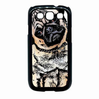 pugs alot dog For Samsung Galaxy S3 Case *NS*