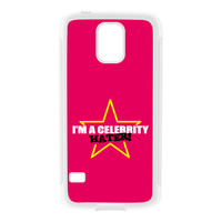 Celebrity Hater White Silicon Rubber Case for Galaxy S5 by Chargrilled