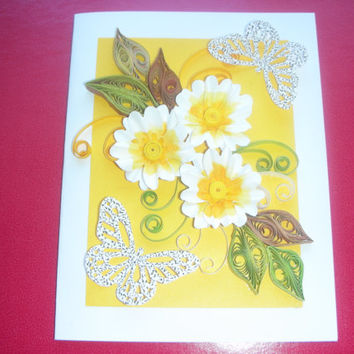Happy Birthday Cards Birthday Card Mom Friend  Handmade Greeting Card For Her