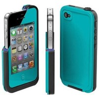 COCO FUN Waterproof Protection Case Cover For Apple iPhone 5th 5G - (Multi Color) - Blue