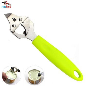 FINDKING Brand High quality green ABS handle with Stainless Steel multifunction opener bottle opener beer opener can opener
