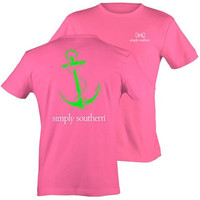 "Simply Southern ""Preppy Anchor"" T-shirt"