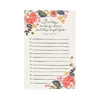 Great Things Notepad by RIFLE PAPER Co. | Made in USA