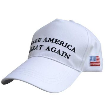 Make America Great Again Letters Printed Hat