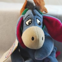 Disney - Mini Bean Bag Eeyore Reindeer with Ears 9""