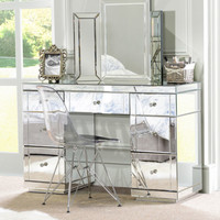 Large Mirrored furniture Dressing Console table / desk from My-Furniture