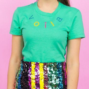 Voila Multi-Color Womens Shirt