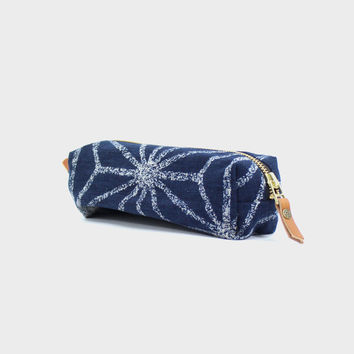 Pencil Pouch, Large Asanoha