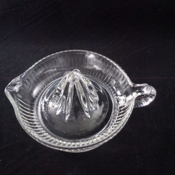 Glass Reamer With Spout And Handle