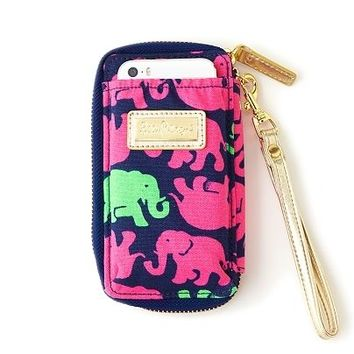 Lilly Pulitzer *Rare* Tusk In Sun ID Card Wallet Wristlet NWT SOLD OUT