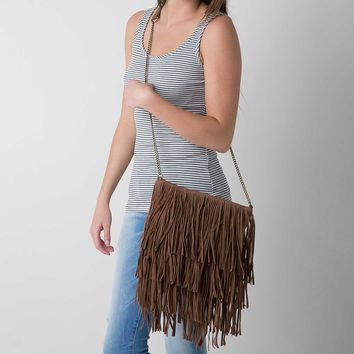 T-Shirt & Jeans Fringe Crossbody Purse