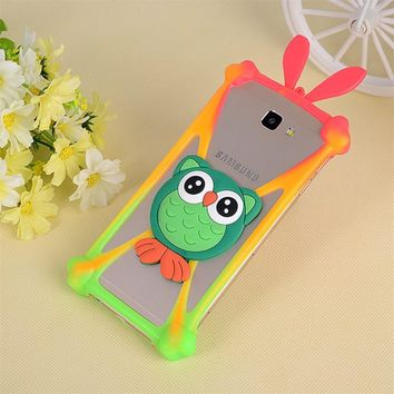 Fashion Silicon Soft Universal Cartoon Phone Case For Leagoo  Z1 ALFA 5 MegaFon Login Plus MTC Smart Sprint Mlais M7 Mstar S700