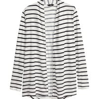 H&M - Patterned Jersey Cardigan