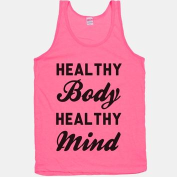 Exercise - Healthy Body Healthy Mind S-P557 By Spoilt Paper Print