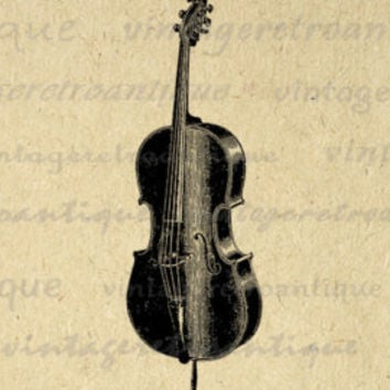Digital Image Mandolin Graphic Antique Music Printable Download Illustration Vintage Clip Art for Transfers Printing etc HQ 300dpi No.3688