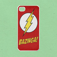 Bazinga For iphone 4 case , iphone 4s case, iphone 5 case , samsung Galaxy S3 case, ipod touch 4 case