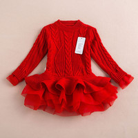 Girls Party knitted Sweater  Dress