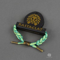 Rastaclat Shoelace bracelet Grizzly Indica | Caliroots - The Californian Twist of Lifestyle and Culture