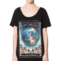 TAROT T-SHIRT - T-shirts - Woman - ZARA Greece